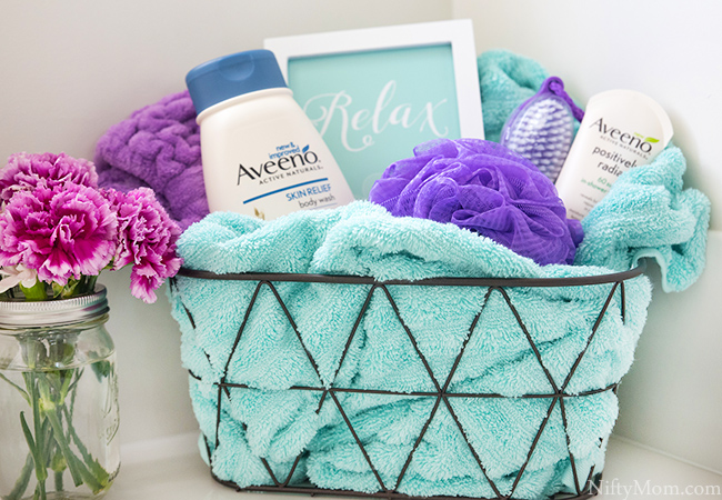 5 Ways to Treat Yourself This Week + Relaxation Gift Basket Idea
