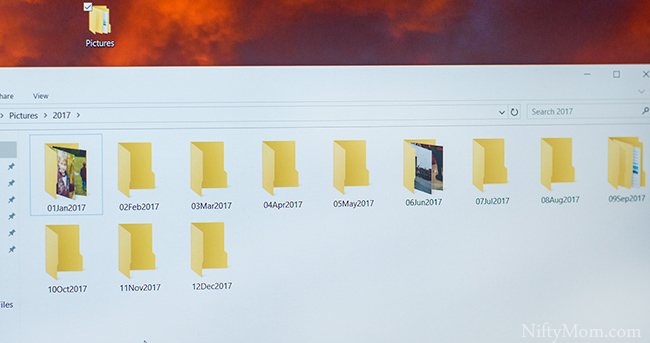 How to sort pictures on your computer