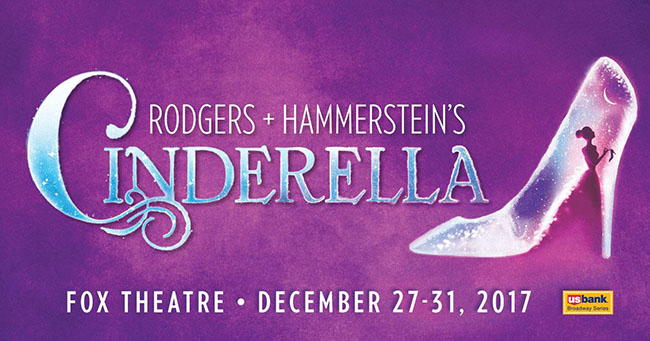 Cinderella Dec. 27 - 31 at the Fox St. Louis