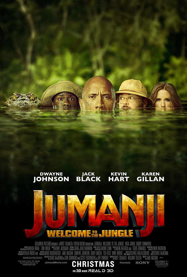 {St. Louis Readers} JUMANJI: WELCOME TO THE JUNGLE Advance Screening for 12/18
