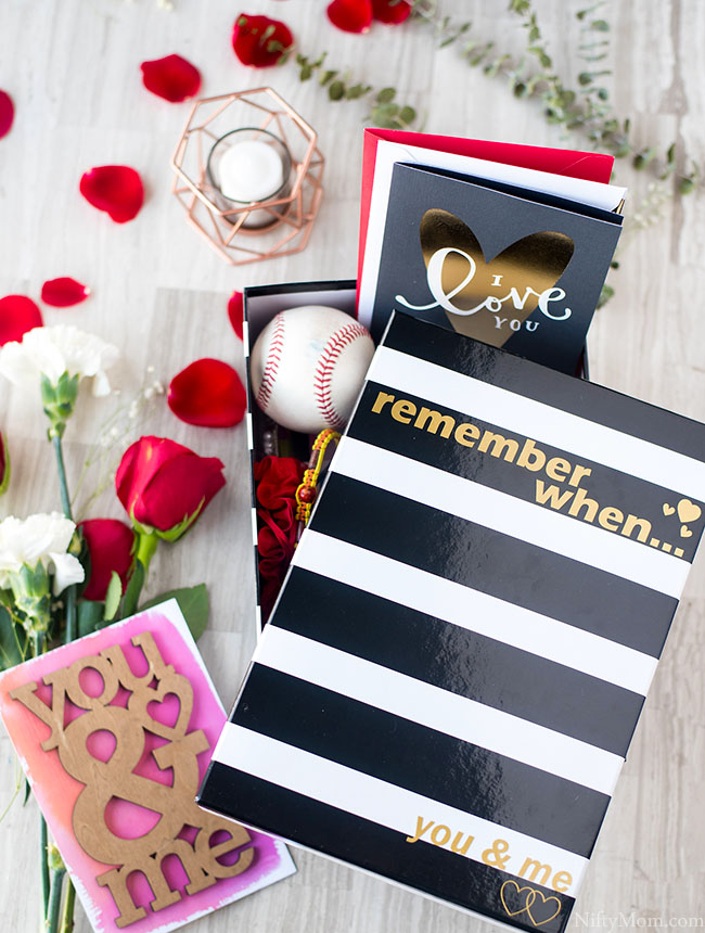 Memory Box for Your Spouse ~ A Thoughtful & Easy Valentine's Day Gift Idea