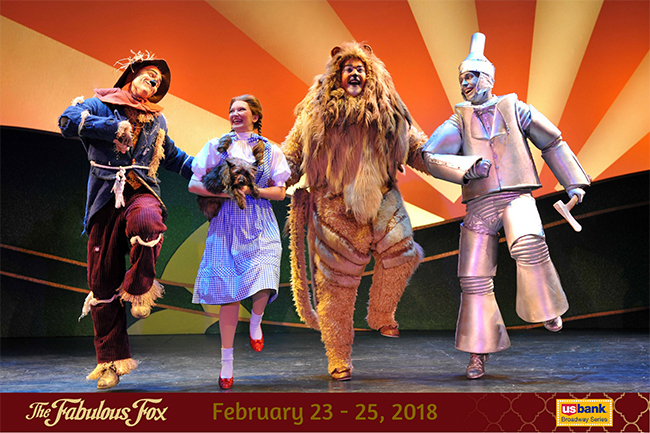 The WIZARD OF OZ at the St. Louis Fox Theatre