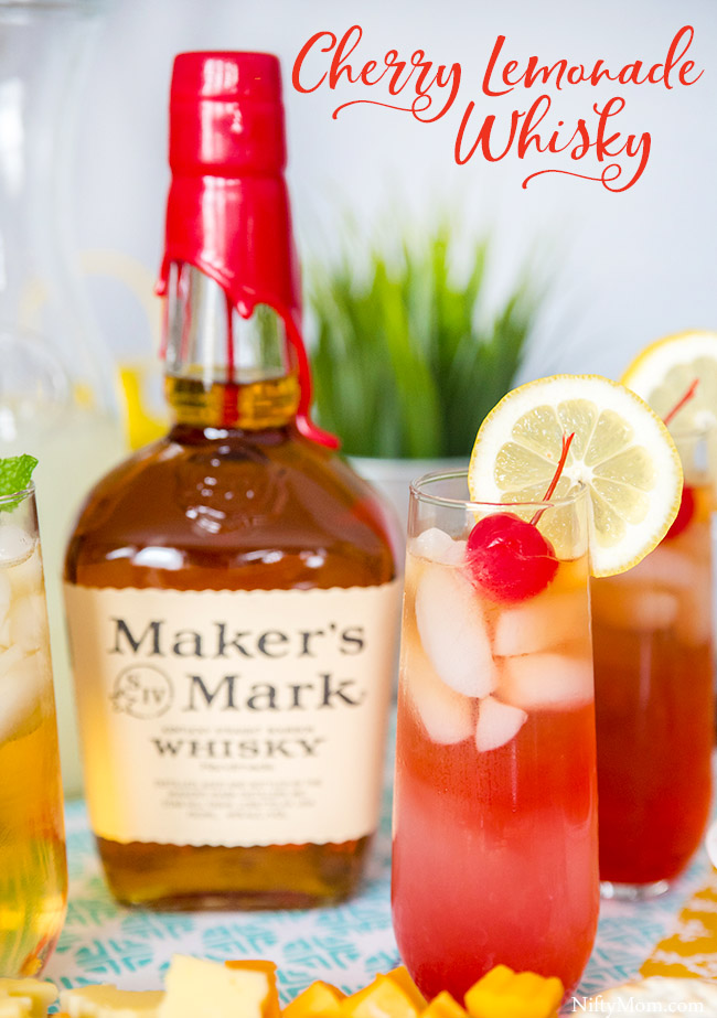 Cherry Lemonade Whisky - Drink Recipe with Maker's Mark