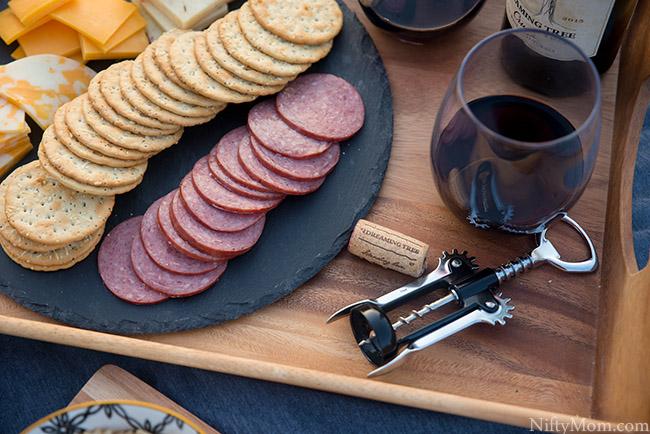 Wine at a Picnic