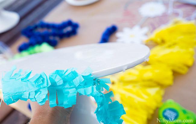 adhesive-dots-cake-stand-decor