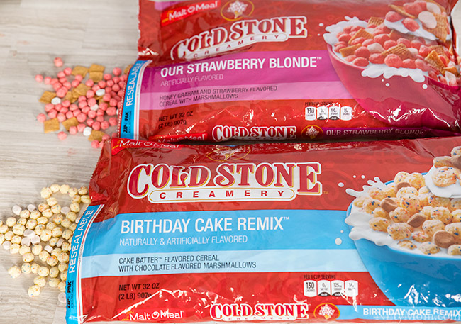 Malt-O-Meal® Cold Stone Creamery Cereals