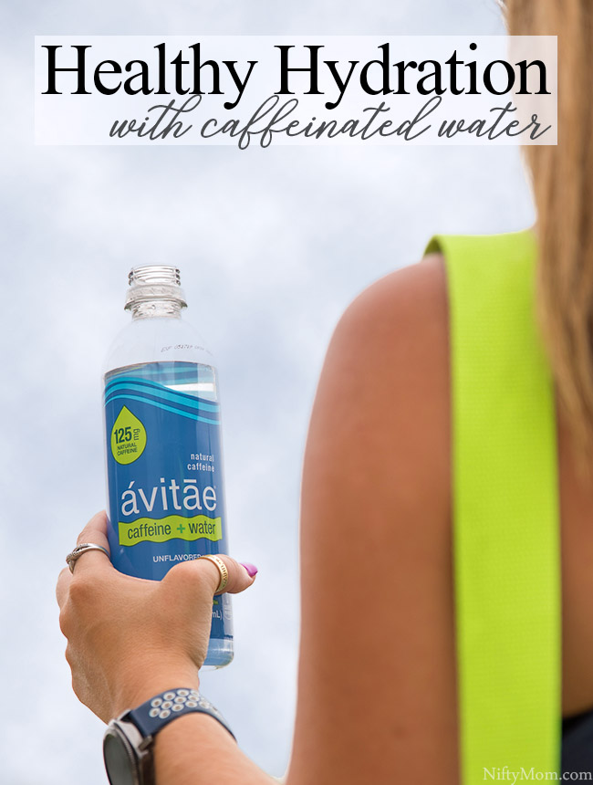 Healthy Hydration with Avitae Caffeinated Water