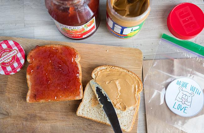 Jif Peanut Butter & Smucker's Fruit Spread
