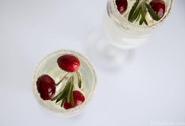White Christmas Mimosa