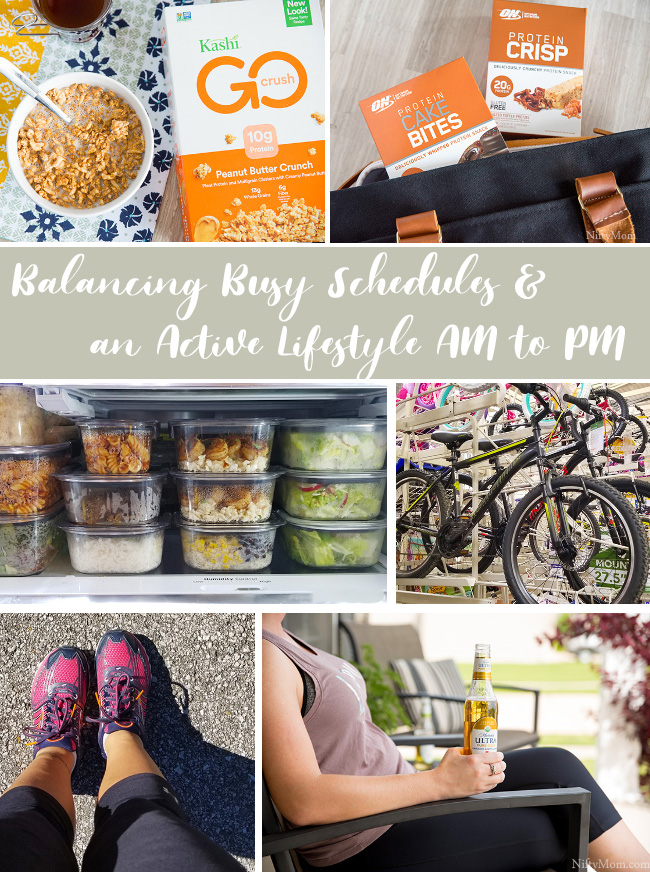 Balancing Busy Schedules & an Active Lifestyle AM to PM