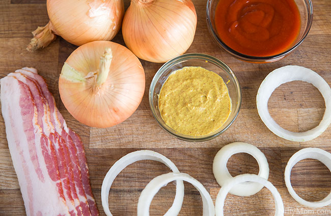Smoked Spicy Bacon-Wrapped Onion Rings Recipe