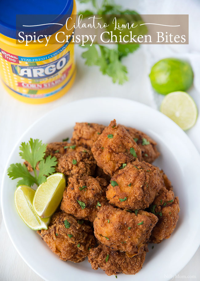 Cilantro Lime Spicy Crispy Chicken Bites Recipe