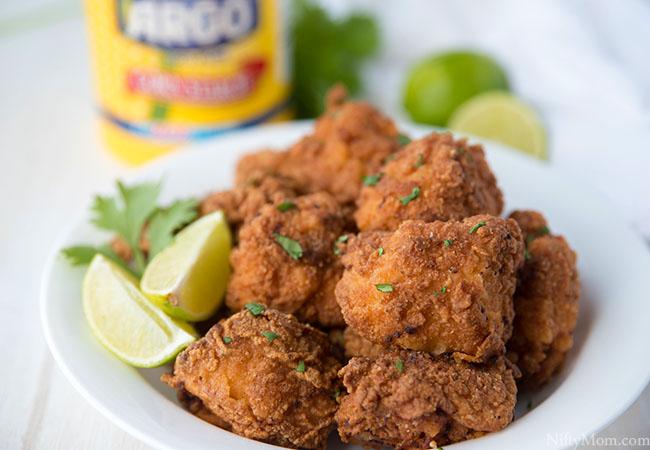 Cilantro Lime Spicy Crispy Chicken Bites