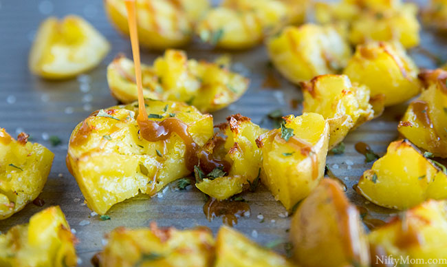 Roasted Potato Bites - An Easy Side Dish Recipe