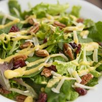 Winter Salad with a Homemade Apple Vinaigrette
