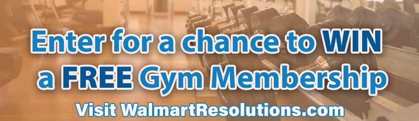 Resolutions at Walmart Sweepstakes