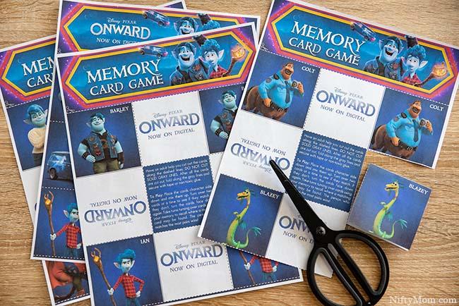 ONWARD Movie Night - Free Printable Activity & Coloring Sheets