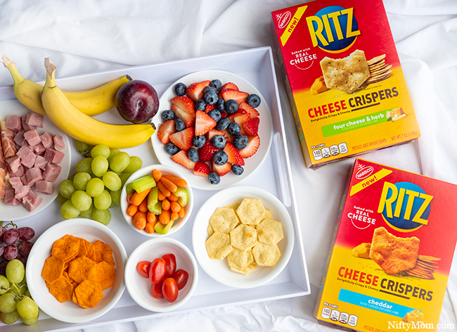 Easy Snack Tray for the Family: Snacking with RITZ