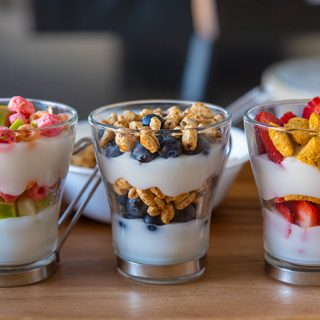 Cereal Snack Parfaits